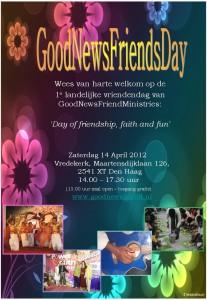 Uitnodiging Good News Friends Day